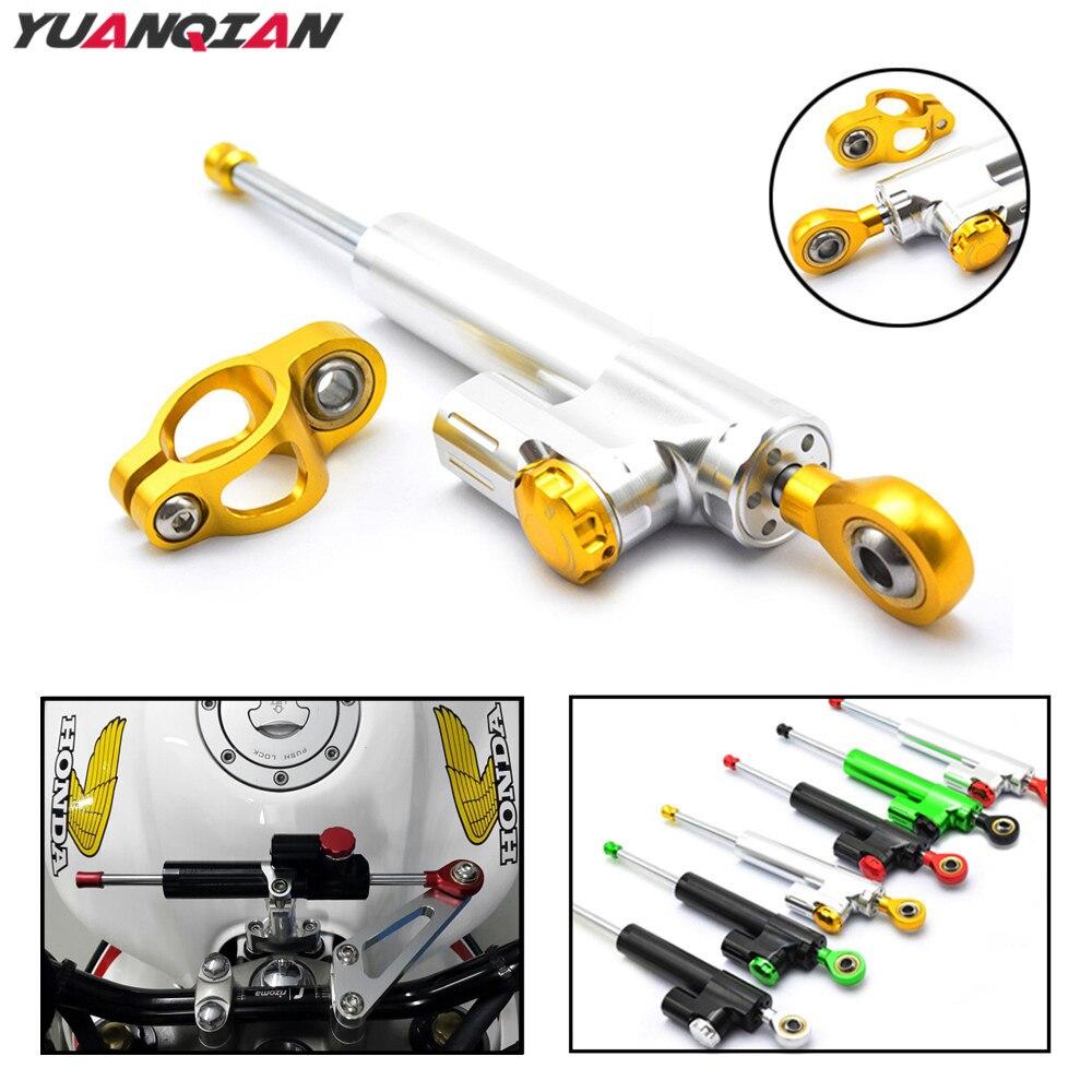 Motorcycle Steering Stabilize Damper Damper Steering For Yamaha XJR1300 FZ1 FAZER MT07 MT 09 FZ6N YZF R125 R3 R6 R1 XT660 XT 660<br>