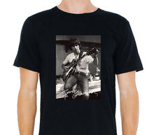 Latest hot cool George Harrison The Beatles Rare Footage 3D Print Men's 100% Cotton Short Sleeve Tees Summer Popular T Shirt(China)