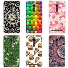 Soft TPU Cases For Asus Zenfone 2 ZE551ML Case Cover For Asus Zenfone 2 Silicone Printing Cell Phone Back Case 5.5 inch Funda
