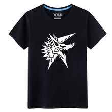 New Mesn T shirts Monster Hunters Fashion colorful t shirts Novelty T shirts games&comic Street Fashion Casual Top wear