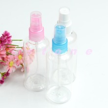 U119 5Pcs/Lot Makeup Tool Plastic Perfume Sprayer Atomizers Water Bottle Empty Pump 100ML