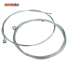 OUTERDO 1 Pair Road Cycling MTB Bike Bicycle Brake Line Shift Shifter Gear Brake Cable Sets Core Inner Wire Steel Speed line