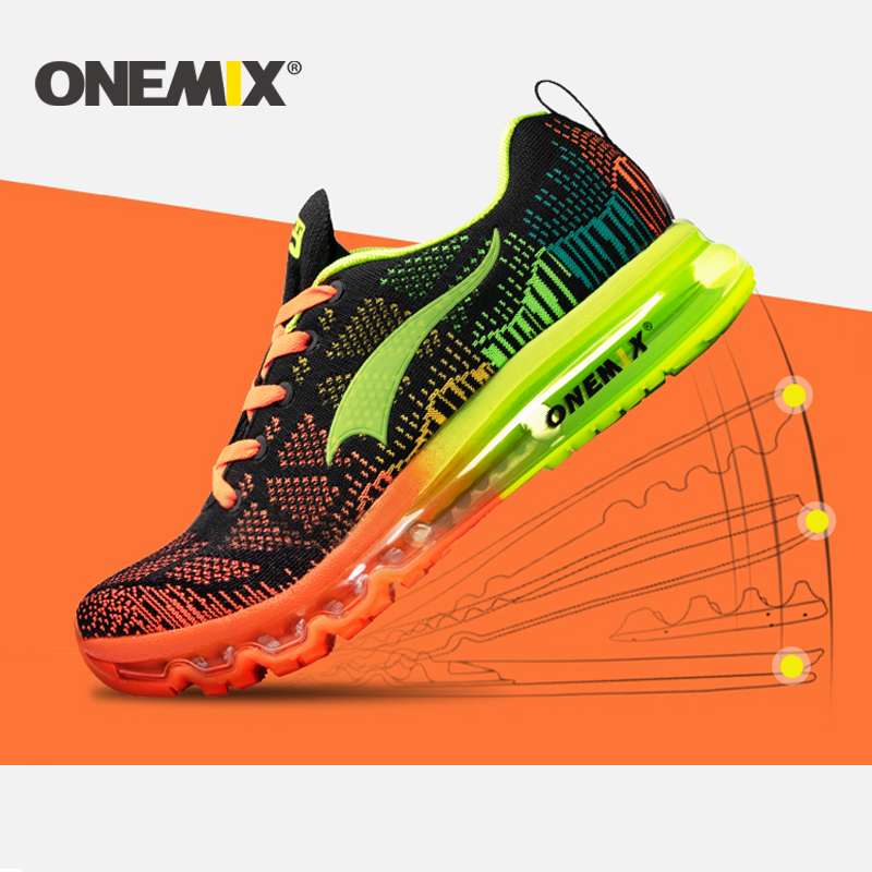 Onemix Men Sneakers Training-Shoes Outdoor Sport Breathable Free-Run Women New title=