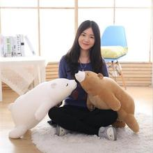 50CM Popular Polar Bear Plush Toy Baby Toys Stuffed Animal Doll 2 Colors Soft Baby Birthday Christmas Gifts Kids Toy