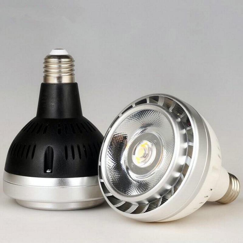 E27 LED PAR30 Indoor light 35W AC110/AC240V COB LED track spotlight LED lamp LED downlight bulb Indoor light<br>