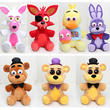 Mangle 45cm FNAF Five Nights At Freddy's Plush Toy Freddy Fazbear Bonnie Chica Funtime Foxy Stuffed Doll Toy juguetes de peluche(China)