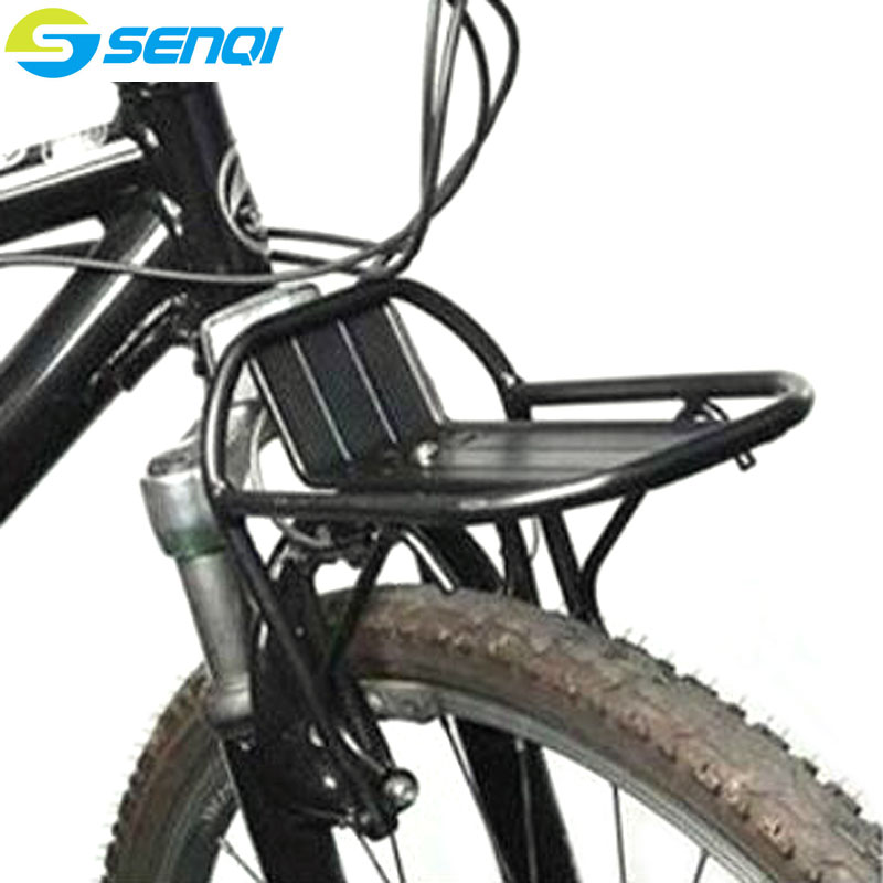 Bicycle Front Cargo Rack Mountain Bike Road Bike Aluminum Alloy Black Colour Luggage Racks Riding Equipment Accessories FZT002