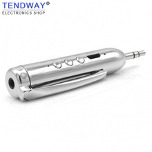 Tendway V4.2 Bluetooth Reciver Wireless AUX Adapter Audio Music Bluetoot Pen 3.5mm Jack with Microphone Hands Free Car Speaker(China)