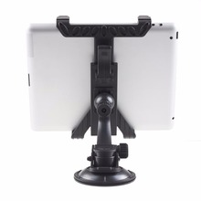 New Black Car Mount  tablet PC Holder Stand For pad/tablet stand / GPS / DVD Adustable Frame  Newest