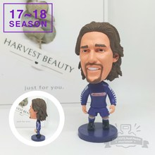 Soccerwe dolls figurine football stars 17-18 9# Batistuta Movable joints resin model toy action figure dolls collectible gift