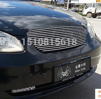 Quality Stainless steel Car front bumper Mesh Grille Around Trim Racing Grills 2005-2013 for BYD F3 <br><br>Aliexpress