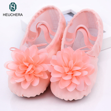 2017 Hot Child ballet pointe dance shoes kids professional ballet dance shoes with ribbons shoes girl Free shipping