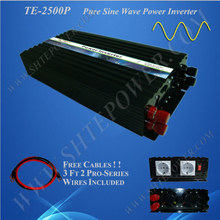 dc ac 2500w inverter 12v 24v 100v 110v 120v pure sine wave for power system(China)