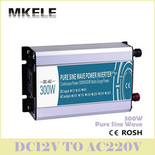High Quality Inverter MKP300-122 General Purpose Pure Sine Wave 12V DC To 220V AC 300W Power Transformer Voltage Converter China