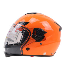 Dual windshield Motorcycle Helmet Full face helmet switch open face helmet DOT ECE approved helmet Rider protecton gear