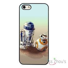 R2D2 Droid BB8 BB-8 Star Wars back skins mobile cellphone cases cover for iphone 4/4s 5/5s 5c SE 6/6s plus ipod touch 4/5/6