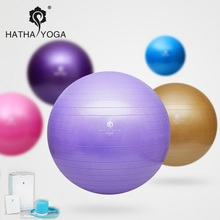 HATHA 65cm Professional swiss yoga ball balancing bola de pilates fitness gym home excise with pump Explosion-proof fitball