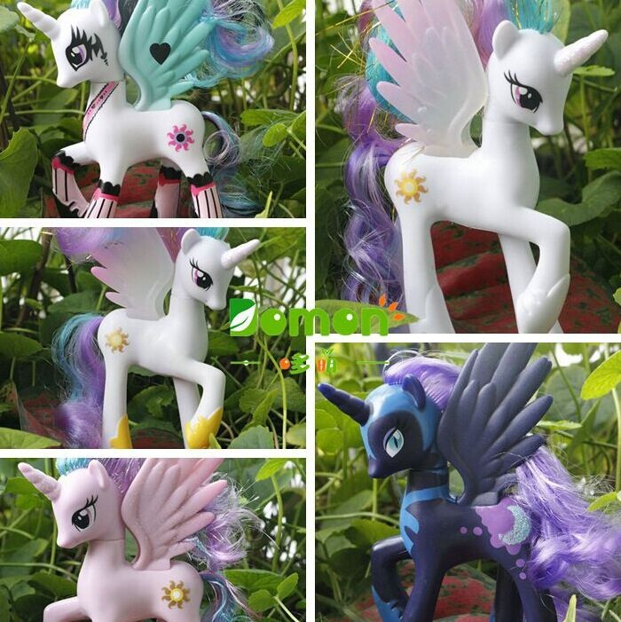 1 pcs HOT new High quality original Princess Celestia Luna Action Figure toys for girl birthday gift<br><br>Aliexpress