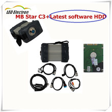 Free shipping Real RS485 for MB Star c3 with newest software MB C3 Star Diagnosis MB Star C3 Multiplexer Diagnostic