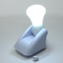 Portable Stick Up LED Cabinet Closet Bulb Lamp Self Adhesive Nightlight Battery Wall Mount Energy Saving Nightlight