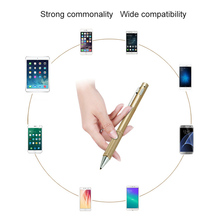 Universal Smart Tablet Pen Stylus for iPad Pro Rechargeable Pencil Touchscreen Input Device for Tablet PC Smartphone XXM8(China)