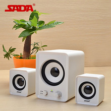 Original SADA D-200A Portable Mini Surround Stereo Bass USB Subwoofer Computer Speaker PC Speakers for Notebook Laptop
