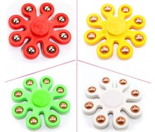 Buy New Octagon Flower Eight Steel Ball Fingertip Anti-stress EDC Ceramic Bearing Hand Spinner Fidget Tri-Spinner Gyro ADHD Toys for $1.79 in AliExpress store