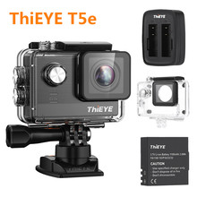 2017 New ThiEYE T5e WiFi 4K Camera 30fps Action Camera 12MP 2 inch TFT LCD Screen 1080P Sports Camera Ambarella A12LS75 Chipset