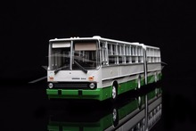 Diecast Bus Model Soviet Union Russian Ikarus-280.33M 1:43 (White/Green) + SMALL GIFT!!!
