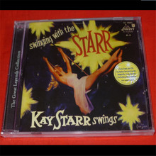 DY-01 new CD seal: Swingin 'with Kay Starr by Kay Starr US CD disc [free shipping]