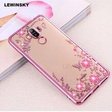 Diamond TPU Plating Case For Huawei P20 P10 P8 P9 lite Mate 10 8 9 pro Y5  Y9 2018 Case on Honor 9 10 8 lite 6C 6A 7A 7C P smart ac78eccea504