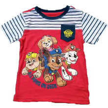 Boy Girls New Cartoon Dog Print T-shirt Children Tee Tops Baby Summer Clothes Kids Short Sleeve Costume Baby Tshirt 2017