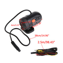 Novatek Car Mini Detector HD 720P 30FPS With 140 Degree Wide Angle Lens Car Camera car Driving Video Recorder Portable DVR(China)