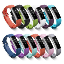 11Colors High Quality Wristband Strap Bracelet with Secure Fasterner Metal Clasps for Alta Bands Wrist Wrist Band Color(China)