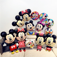 Kids Birthday Party Decoration Huge Mickey Minnie Balloon Red Mouse Family Theme Party Decor Children Baby Shower Boy Girl Gift