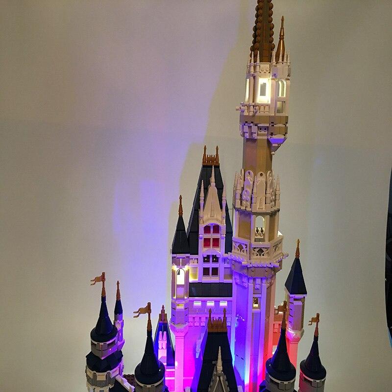 Led Light Set For Lego Building City Street 71040 For 16008 Cinderella Princess Castle Blocks Toys Creator City Street Lighting (3)