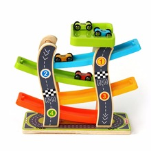 Toy Roller Coaster Track Electronics Toys Car Rail Car Toy for Children Racing Track Car(China)