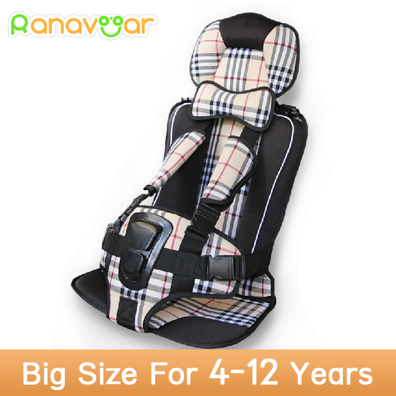 Kids Car Protection 4-12 Years Old Baby Car Safety Seats,Portable and Comfortable Infant Safety Seat,Practical Baby Cushion(China (Mainland))