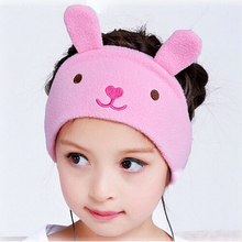 Adjustable Children Headphones cartoon earphone Super Comfortable Soft Fleece Headband Perfect Kids Earphones For Travel&home(China)
