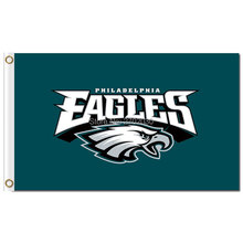 Philadelphia Eagles Bandera Flag 90x150 Cm World Series Football Team Jersey Philadelphia Eagles Banner Flag Colors Stand(China)
