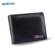 Genuine Leather Car Licence Bag For Audi S line Sline A3 A4 B6 B5 A1 B7 B8 A7 Q3 Q5 Q7 S4 RS4 A5 S5 RS5 S6 S7 SQ5 8R A8 TT A6 C5