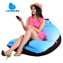 LEVMOON Beanbag Sofa Chair Mammoth Seat zac Shell Comfort Bean Bag Bed Cover Without Filler Cotton Indoor Beanbag Lounge Chair(China)