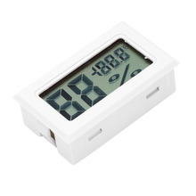 Mini Digital LCD Indoor Convenient Temperature Sensor Humidity Meter Thermometer Hygrometer Gauge Hot Selling Wholesale