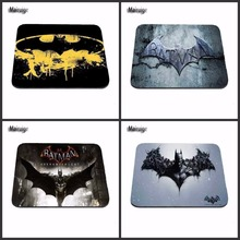 DIY New Arrival 2017 Custom Batman Slim Silicone Laser Mouse Pad Superhero Anti-Slip Mousepad Soft Rubber Mat for Optical Mice(China)