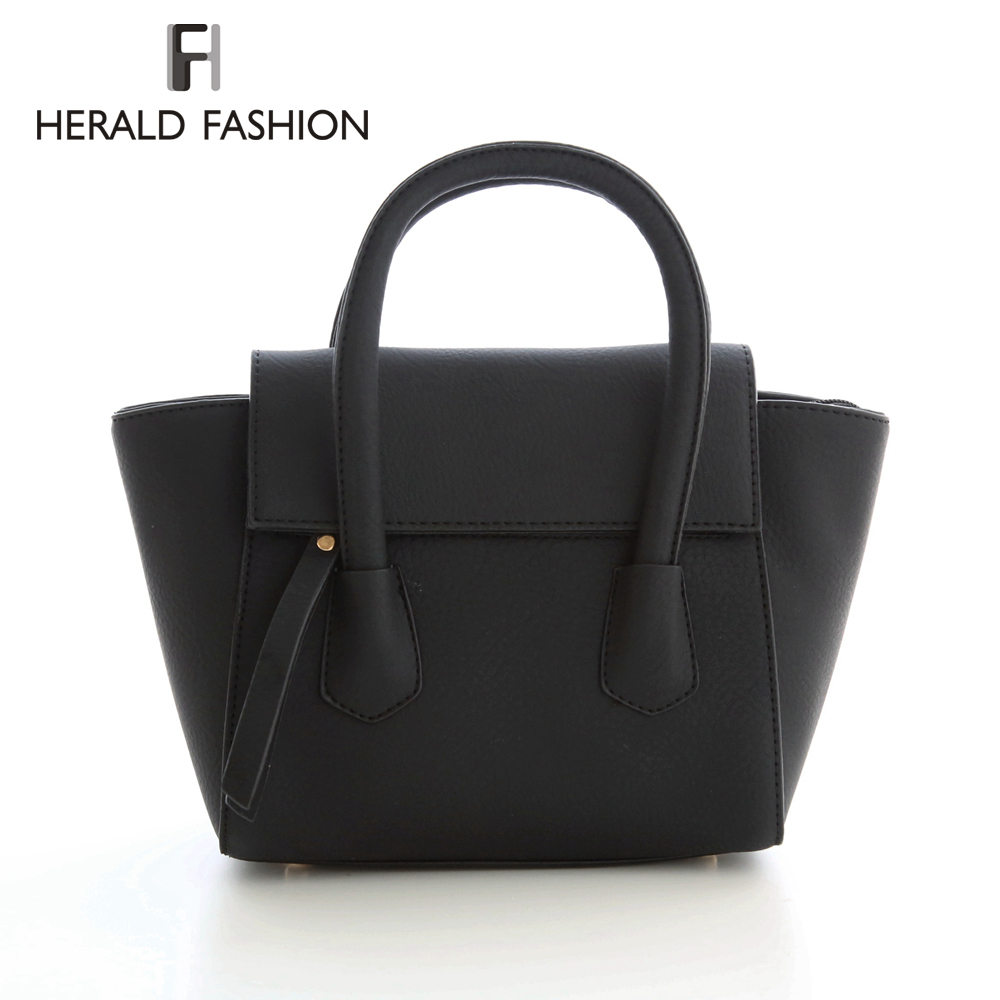 Herald Fashion Vintage Women Designer Inspire Tote Trapeze Big Ears Smiley Swing Bag Celebrity Handbag Small Women Shoulder Bag<br><br>Aliexpress