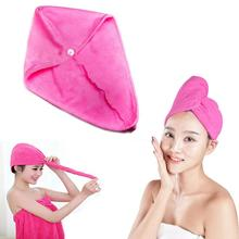 relefree Quick Dry Microfiber Towel Hair Magic Drying Turban Wrap Hat Cap Spa Bathing Fitness Hair band swimming Towels(China)