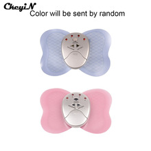 Mini Full Body Butterfly Massager Slimming Electric Slim Pulse Muscle Relax Fat Burner Massager pads vibrator shock body massage