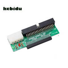 "kebidu 44Pin 2.5 "" HDD to 3.5 "" IDE 40Pin Interface Hard Disk Drive HDD Converter Adapter for Laptop Desktop PC Computer(China)"