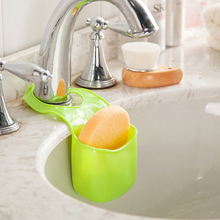 Hot Sales!!Kitchen Sink Bathroom Sponge Holder Hanging Strainer Storage Shelving #C