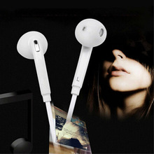 Buy S6 In-ear Earphone iphone 6 7 Xiaomi Samsung S7 S8 Headset Hands Free Wired Volume Control Earphones Earbuds Microphone for $1.54 in AliExpress store